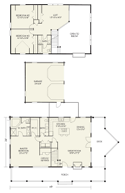 log cabin floor plans with garage log home and log cabin floor plan details from hochstetler log homes