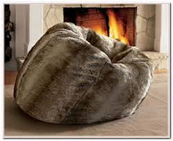 faux fur bean bag chair pottery barn eastsacflorist home and design