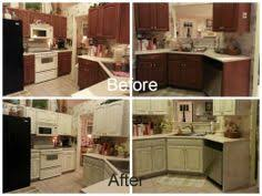 Chalk Paint Kitchen Cabinets My Kitchen Cabinets With Chalk Paint The Update By Whimsical