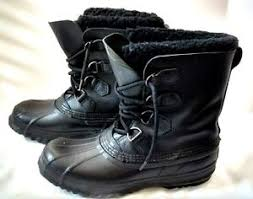 s rubber boots canada sorel black crafted rubber boots s 8 made in canada