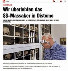 moralische anspr che αφιέρωμα της bild για τη σφαγή στο δίστομο geopolitics daily
