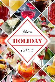 holiday cocktails festive holiday cocktails mad in crafts