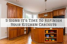 how to refinish kitchen cabinets 5 signs it s time to refinish your kitchen cabinets in west