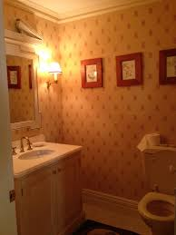 Orange Powder Room Powder Room Renovation Reveal Before And Afters