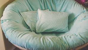 Papasan Chair Cushion Cover Diy Chalk Paint Recipe Thrift Store Dresser Makeover Lazy
