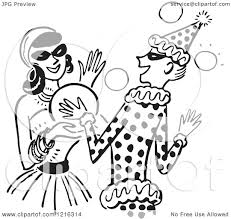 cartoon of a young couple dancing at a halloween costume party in