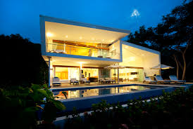poirier design the white house of costa rica modern architecture beach house costa rican architecture modern beach house costa rica