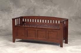 linon home decor amazon com linon home decor storage bench with short split seat