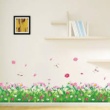 aliexpress com buy beautiful pink flower green grass with