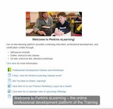 online class platform online classes perkins elearning