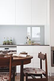 glass kitchen backsplashes 28 trendy minimalist solid glass kitchen backsplashes digsdigs