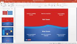 powerpoint templates free download ocean blue ocean strategy powerpoint free blue ocean strategy powerpoint