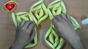 how to make a beautiful snowflake christmas star christmas crafts