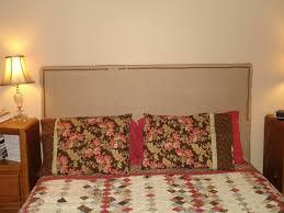 Fabric Nailhead Headboard Bedroom Nice Diy Wood Framed Upholstered Headboard With Nailhead
