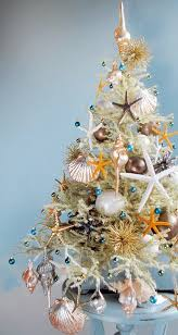 Beach Christmas Tree Topper - the most marvellous mini beach christmas trees by tree decorator