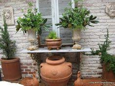 Outdoor Console Table This Italian Outdoor Console Makes A Great Statement Gorgeous