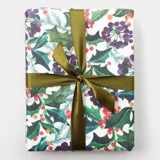 berry wrapping paper 3 sheets caroline gardner