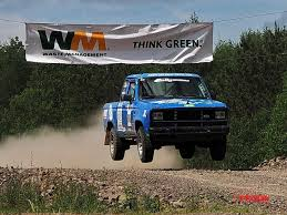 Last Year Ford Ranger Demasi Challenges Convention With V8 Ford Ranger At Rally America