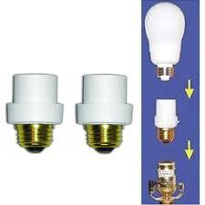 dusk to dawn light sensor 2 pc automatic l sensors dusk dawn security light bulb switch