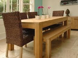 bench style dining room tables wood dining room solid wood dining room table with bench style