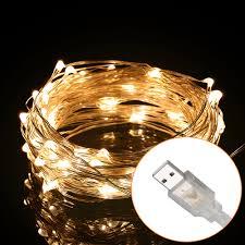 Led Wire String Lights by Aliexpress Com Buy Excelvan 100led 10m 33ft String Lights Usb