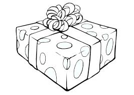 coloring christmas present img 23934