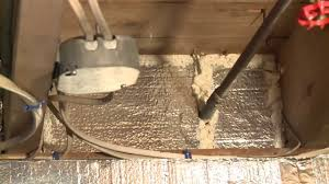 insulating a rim joist with silverglo youtube