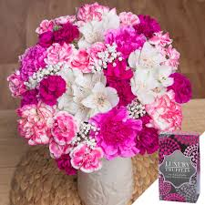 mothers day flowers gift send thank you mum gift by post
