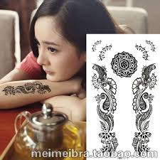 online get cheap henna designs stickers aliexpress com alibaba