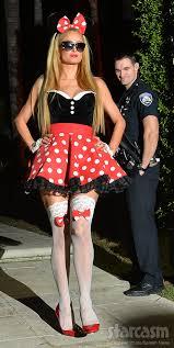 Halloween Playboy Costumes Photos Paris Hilton Minnie Mouse Playboy Bunny Halloween