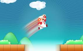 download wallpaper 3840x2400 mario jump sky clouds ultra hd 4k
