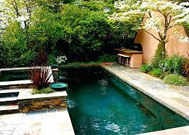 Garden Pool Ideas Small Garden Pool Design Sublime Small In Ground Pools Ideas In