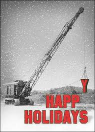 construction crane cards for your business