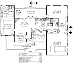 3 or 4 bedroom country farmhouse plan 6543rf architectural