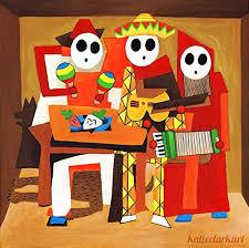 amazon mariachi guys art print picasso