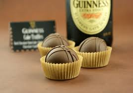 chocolate stout guinness cake truffles