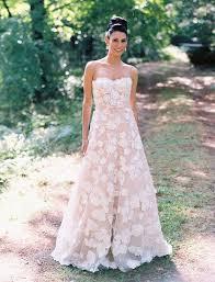 floral wedding dresses 30 gorgeous floral applique wedding dresses weddingomania