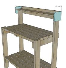 Woodworking Bench Plans Simple by 25 Best Potting Bench Plans Ideas On Pinterest Potting Station