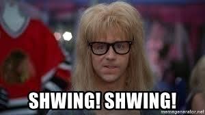Shwing Meme - shwing shwing garthhhh meme generator
