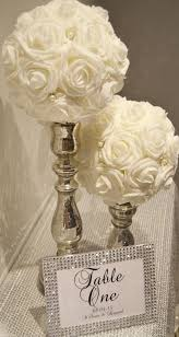 Elegant Centerpieces For Wedding by Best 25 Bling Wedding Centerpieces Ideas On Pinterest