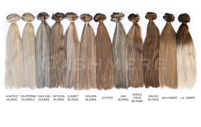 la hair extensions hair extensions color chart