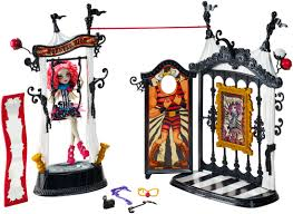 monster high freak du chic circus scaregrounds u0026 rochelle goyle