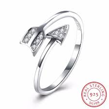 sted rings 100 925 sterling silver ring women jewelry fashion arrow pandora