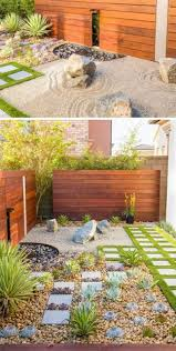 landscaping ideas for yards with no grass composite material