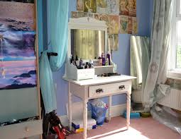 Shabby Chic Vanity Table by Oh That Curl Diy Shabby Chic Dressing Table