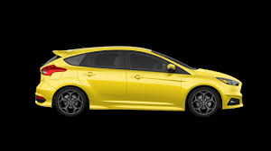 ford focus st yellow 2017 ford focus st yellow motor1 com photos