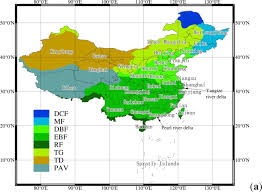 Wuhan China Map by Remote Sensing Free Full Text Changes In Vegetation Growth