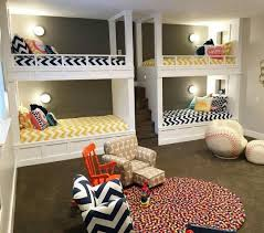 Plans For Building Built In Bunk Beds by Best 20 Four Bunk Beds Ideas On Pinterest Double Bunk Beds
