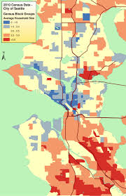 Greater Seattle Area Map by Chad Newton Build The City