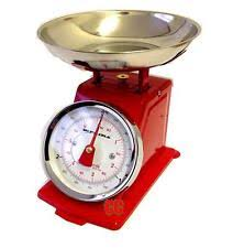 Traditional Kitchen Weighing Scales - traditional weighing kitchen scale bowl retro scales mechanical